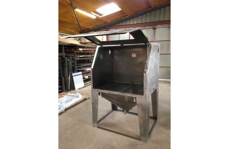 Sandblasting Enclosure Aller Engineering